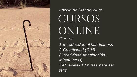 escuela de vivir , meditación y creatividad online