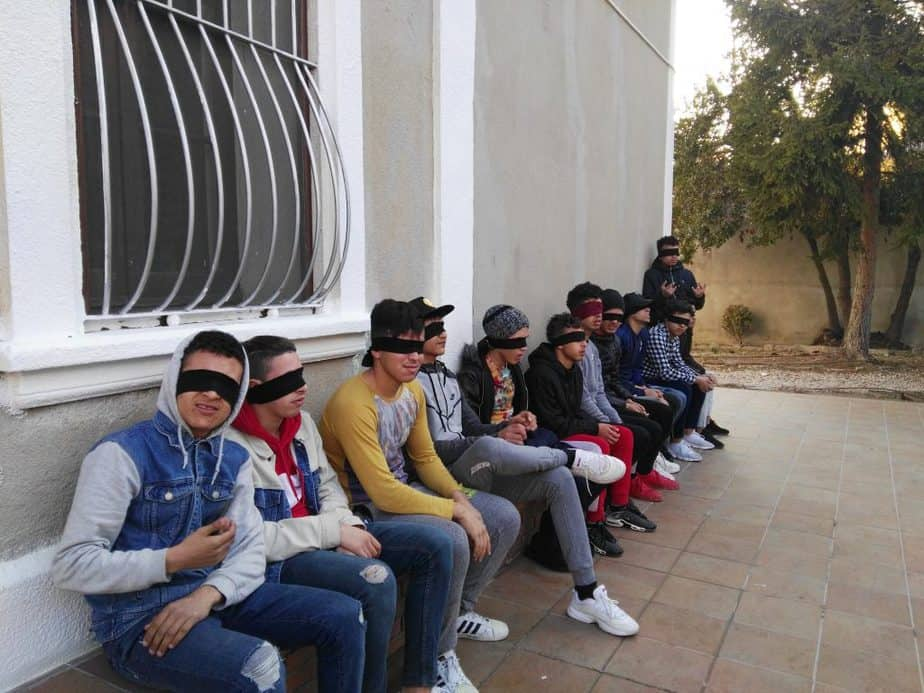 curso de mecitación jovenes inmigrantes