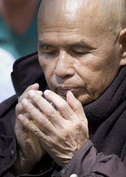 Thich Nhat hanh y la cocina  vegana en el retiro de meditacion y creatividad de la escuela de vivir