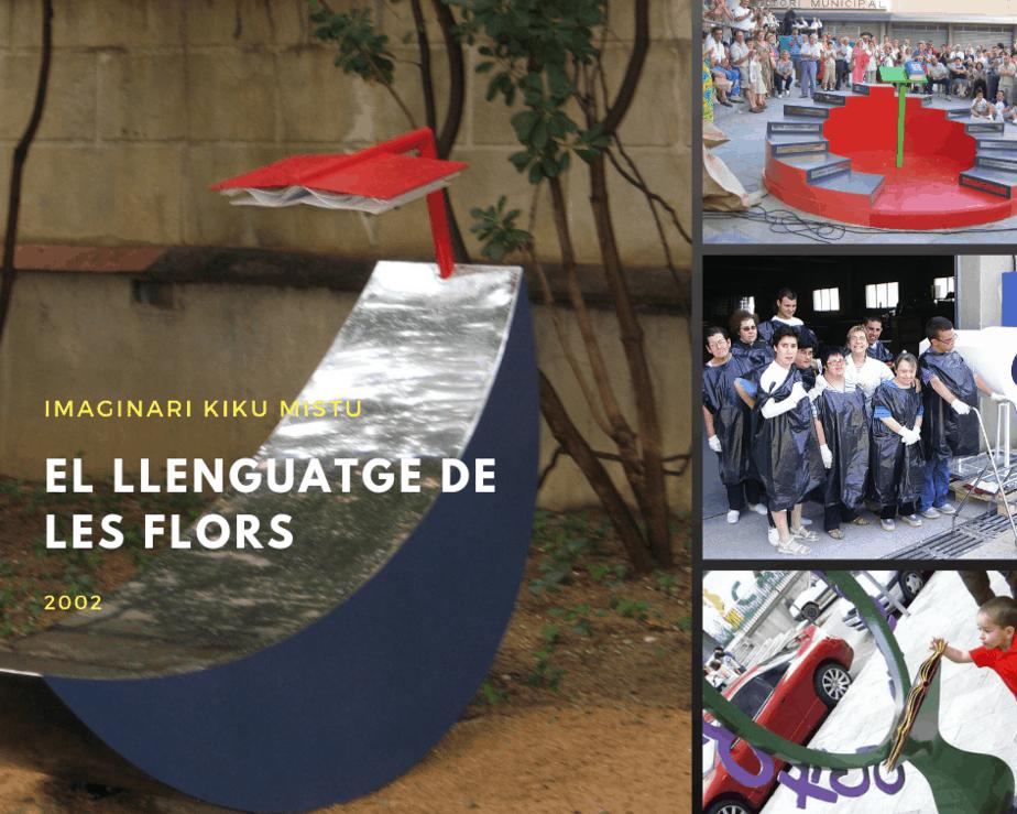 el llenguatge de les flors escultura pública participativa kiku mistu