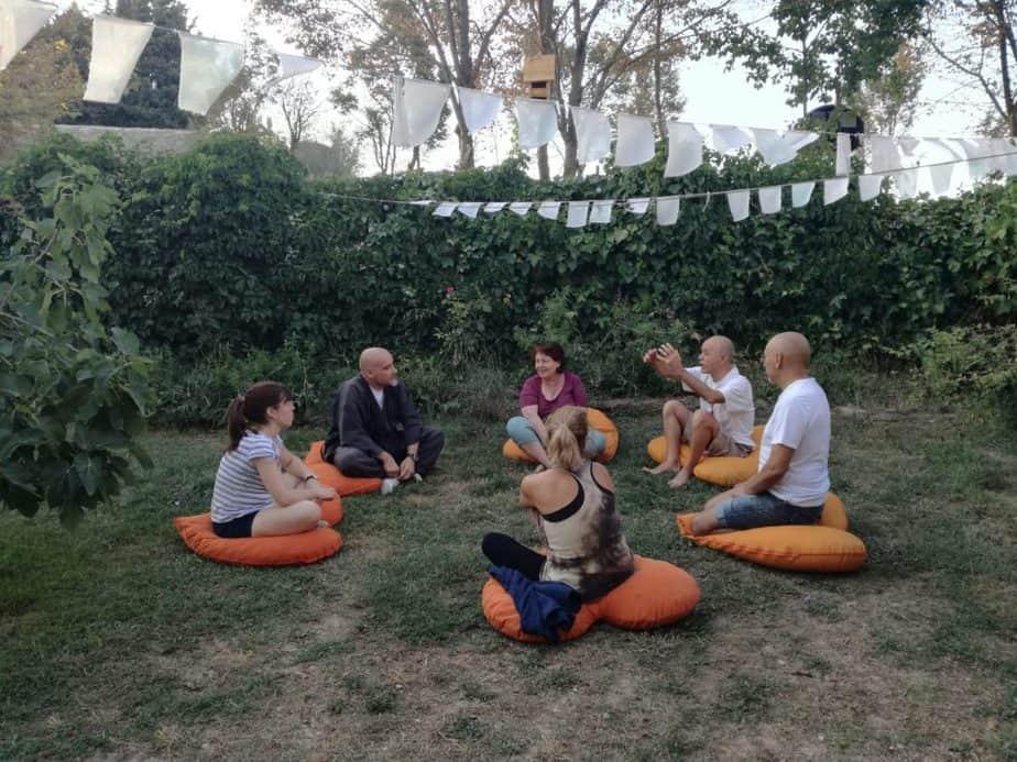 escuela de meditación