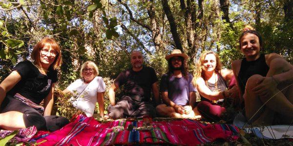 retiro de meditación y creativitad