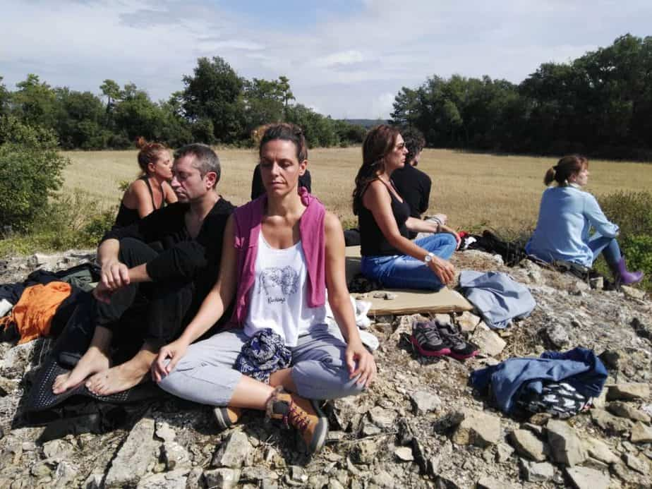 meditación en fin de semana