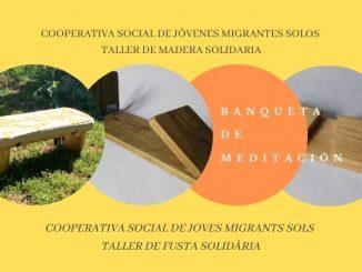 En nuestro TALLER DE MADERA SOCIAL ayudamos a jóvenes migrantes solos en su formación integral y emancipación.