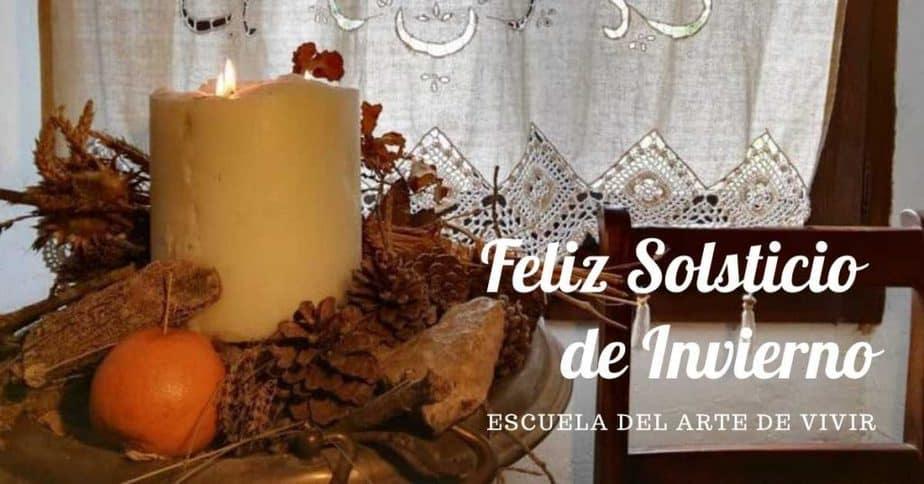 feliz solsticio de invierno en la escuela del arte de vivir