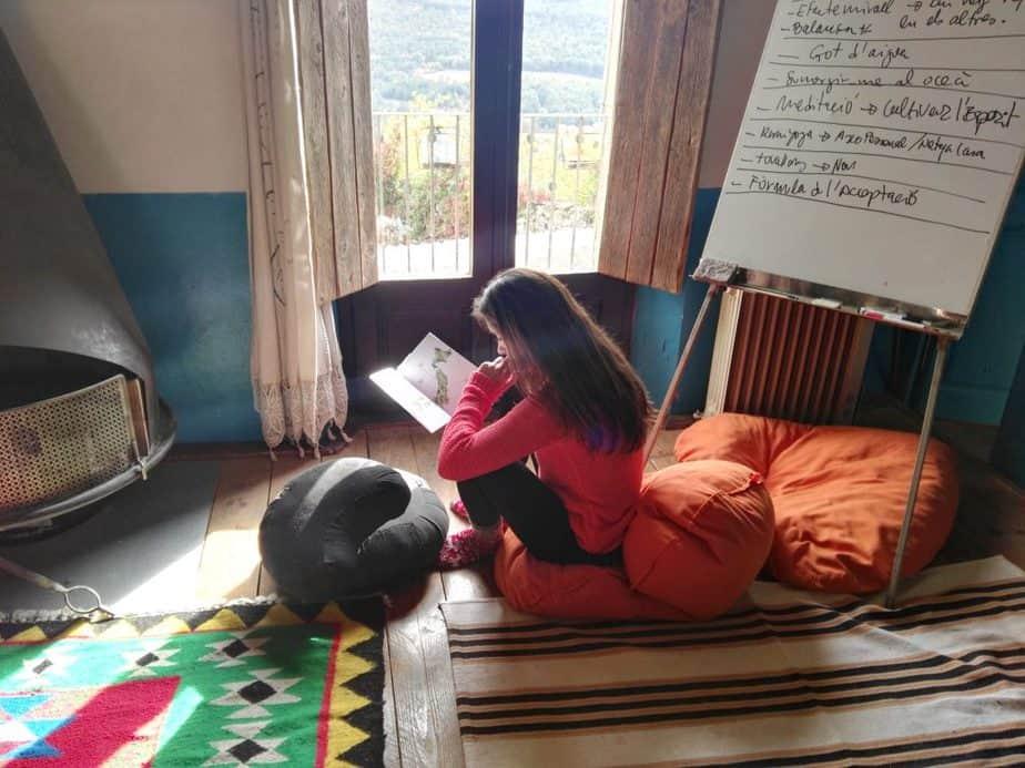 tiempo de lectura y soledad en el retiro