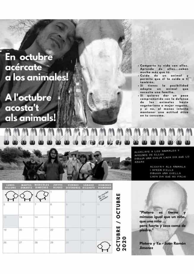 calendario de pistas para el arte de vivir