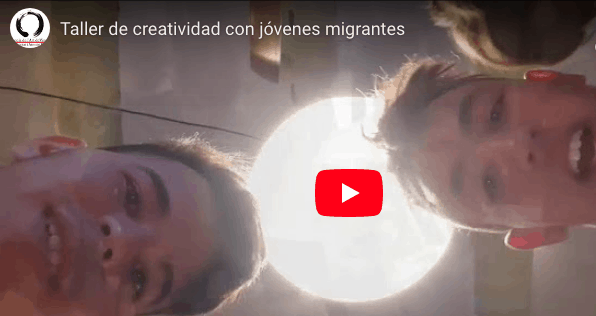 video taller con jóvenes migrantes solos