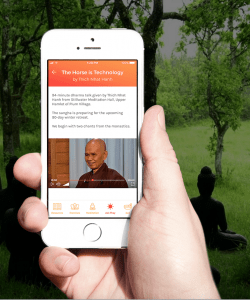 thich nhat hanh sangha on line