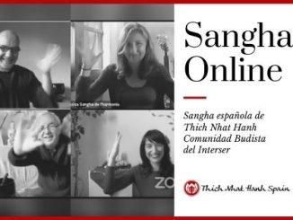 sangha online - meditación online