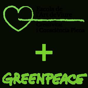 escola de l'art de viure + greenpeace